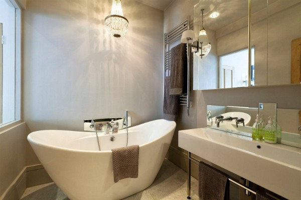 Add Style And Luxury To Your Space With A Bathroom Chandelier Decor Talk Blog