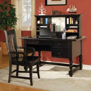 elegant Bella desk by Steve Silver