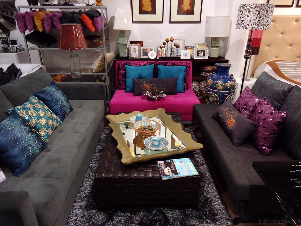 eclectic display showroom - Eclectic Decor