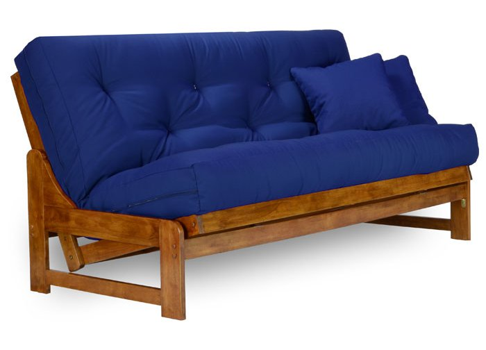 Armless Wood Futons