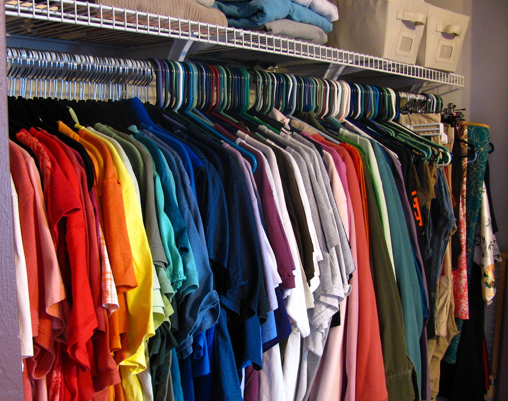 Create an organized closet