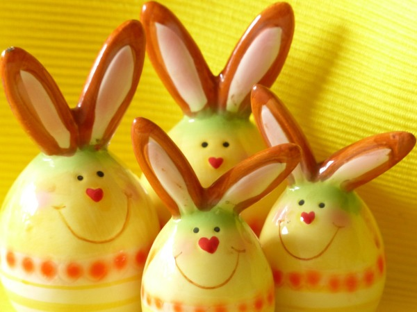 A few cute bunnies for Easter Sunday