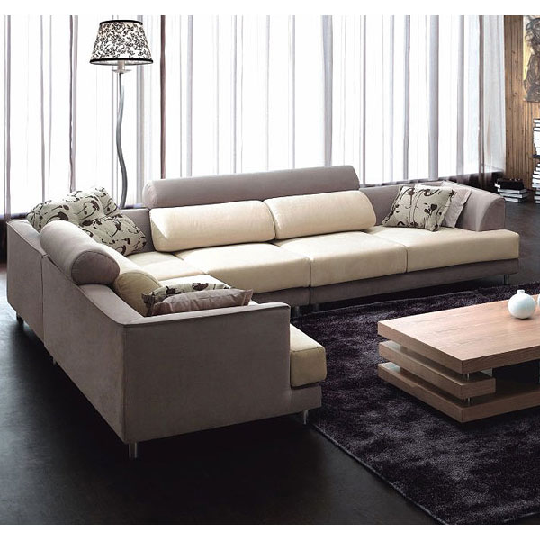 modern designer furniture sofa set in living room