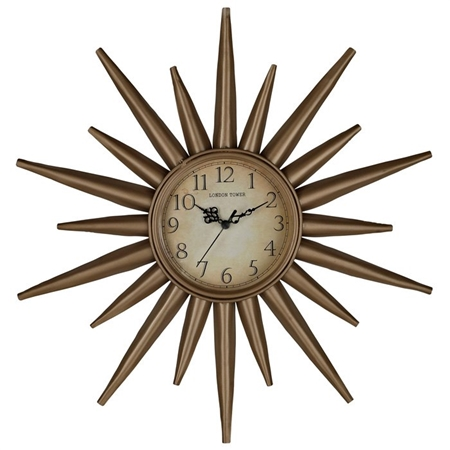 retro-star-wall-clock