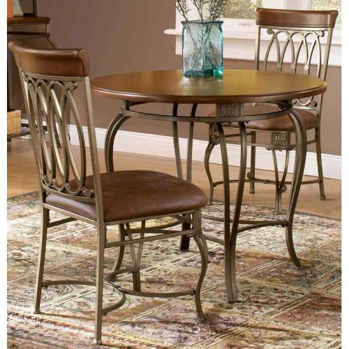 "Source: Montello 36"" Round Dining Table from DCG Stores"